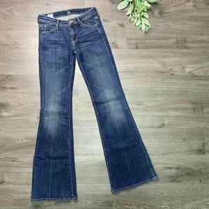 Mother Jeans   sz 24 The Wilder Here Kitty Kitty